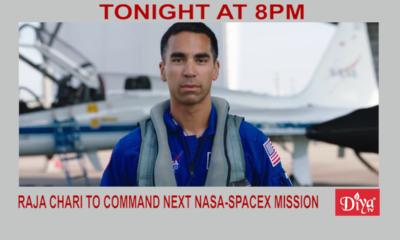Raja Chari to command next NASA-SpaceX mission | Diya TV News